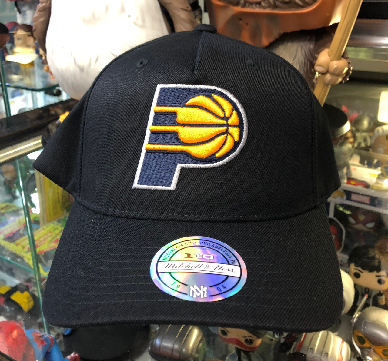 timeless design 9c1ed b1996 Indiana Pacers Flex Mitchell & Ness Snapback Hat