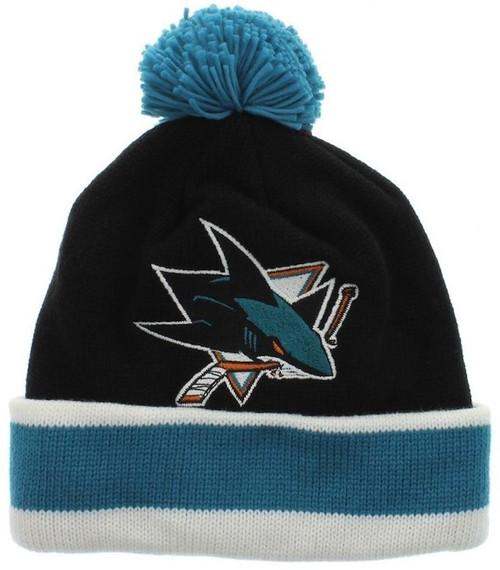 San Jose Sharks Mitchell & Ness Beanie Hat