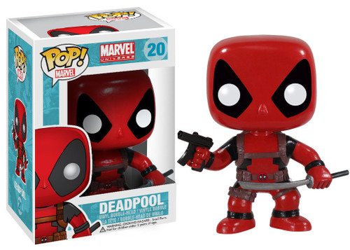 Deadpool Red Original Pop! MARVEL Vinyl Figure