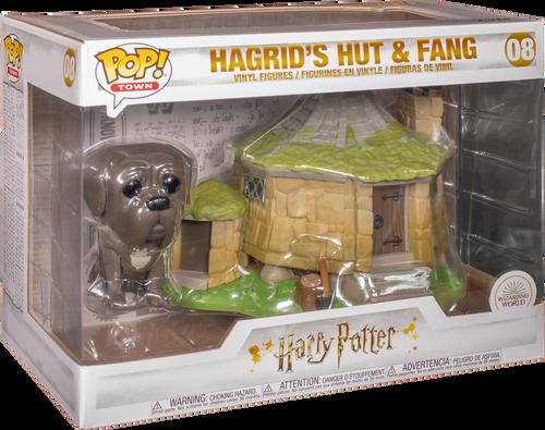 Harry potter figurine-hagrid/'s hut /& fang pop town 15cm