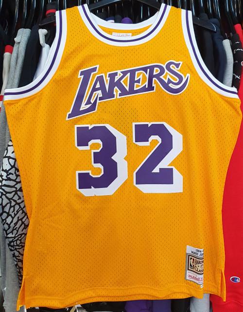 Los Angeles Lakers Magic Johnson 32 Mitchell & Ness Swingman Jersey