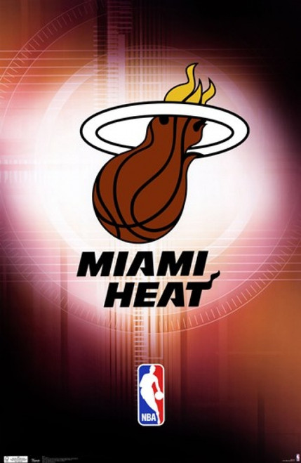 Miami Heat Logo NBA Blockmount Wall Hanger