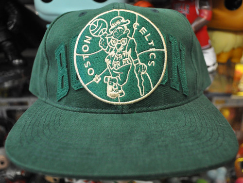 Boston Celtics Deadstock Fit Mitchell & Ness Green Snapback Hat