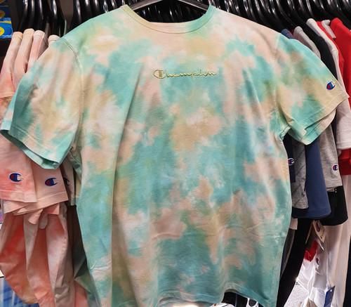 Champion Heritage Cloud Dye Citrus Lime T-Shirt