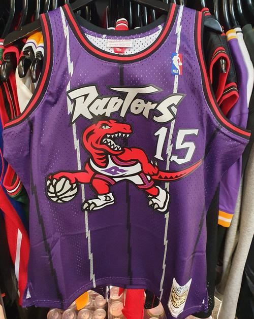 Toronto Raptors Vince Carter 15 Purple Mitchell & Ness Swingman Jersey