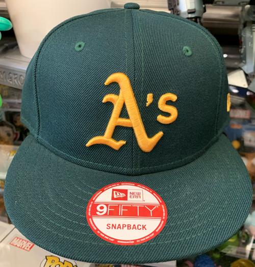 Oakland Athletics On Field Green New Era Snapback