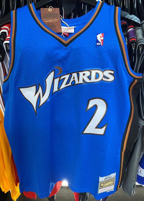 Washington Wizards John Wall 2 Blue Mitchell & Ness NBA Swingman Jersey