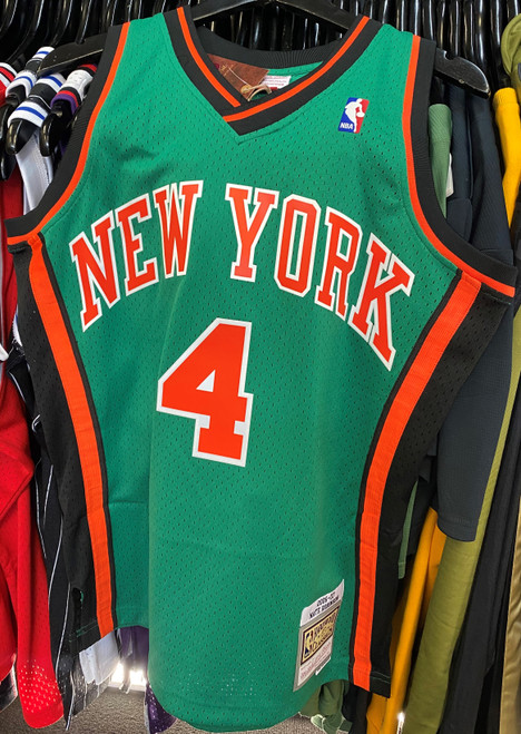 New York Knicks Nate Robinson 4 Saint Patrick's Day Green Mitchell & Ness NBA Swingman Jersey