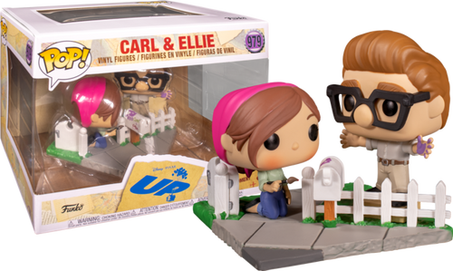 Up - Carl & Ellie Movie Moments Pop! Vinyl Figure 2-Pack (2020 Fall Convention Exclusive)