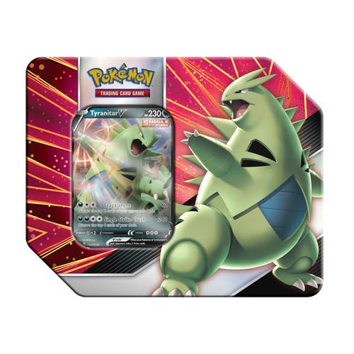 Pokémon TCG: V Strikers Tin (Tyranitar V)