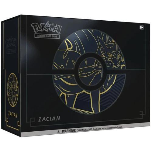 Pokemon TCG Sword & Shield Elite Trainer Box Plus Zacian