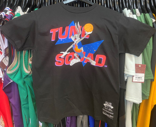 Space Jam Bugs Bunny Tune Squad Mitchell & Ness Black T-Shirt