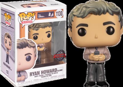The Office - Ryan Howard with Blonde Hair Pop! Vinyl Figure