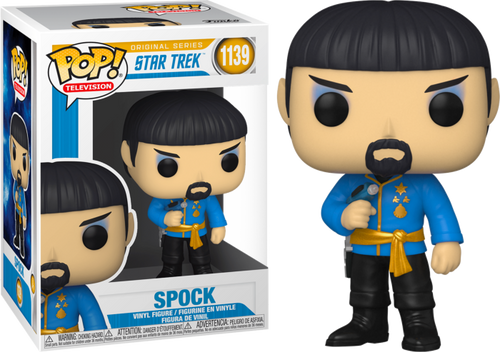 Star Trek: The Original Series - Mirror Spock Pop! Vinyl Figure