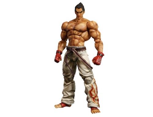 Kazuya Mishima Tekken Play Arts Kai Figure