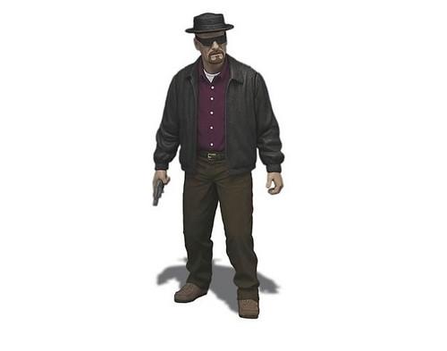 """Breaking Bad 6"""" Walter White - Heisenberg Action Figure"""