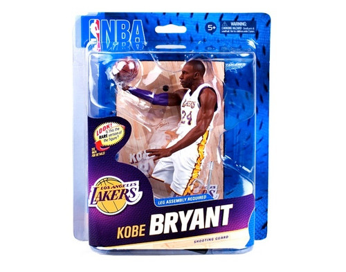 Kobe Bryant Los Angeles Lakers NBA Basketball McFarlane Toys 6-Inch Action Figure