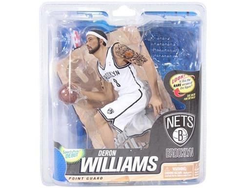 Deron Williams Booklyn Nets NBA Basketball McFarlane Toys 6-Inch Action Figure