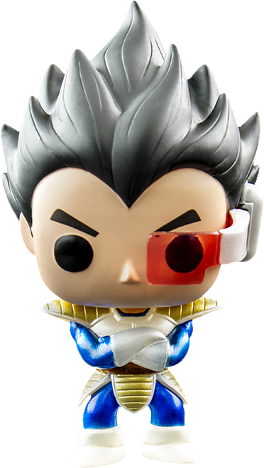 Dragon Ball Z- Vegeta Metallic Pop! Animation Vinyl Figure