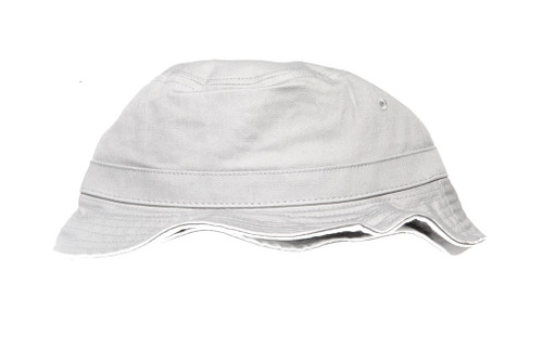 Grey Core Blank Unbranded Bucket Hat