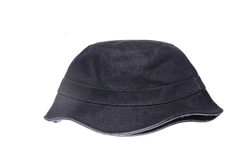 Blue Denim Blank Unbranded Bucket Hat