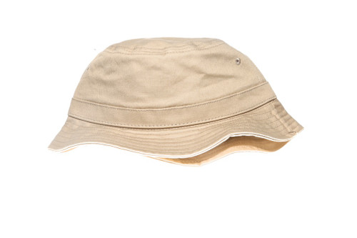 Khaki Core Blank Unbranded Bucket Hat