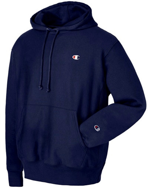 Champion Reverse Weave Navy Hoodie Pullover Jersey