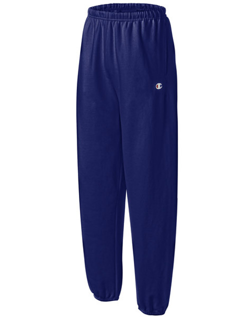 3304b78758eb Champion Reverse Weave Navy Blue Tracksuit Pants - Authentic ...
