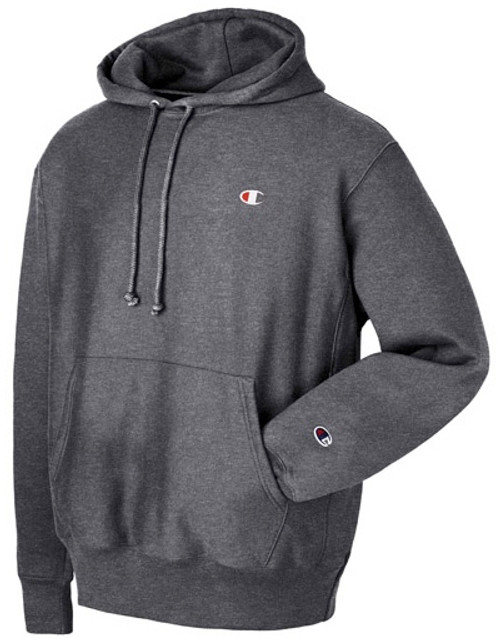 5936cc64 Champion Reverse Weave Dark Grey Hoodie Pullover Jersey - Authentic ...