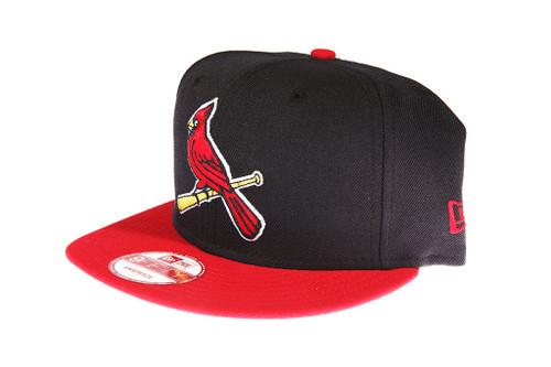 ... St. Louis Cardinals Alternate Logo New Era 9FIFTY MLB Blue and Red Snapback  Hat ... e0f4cc49eab