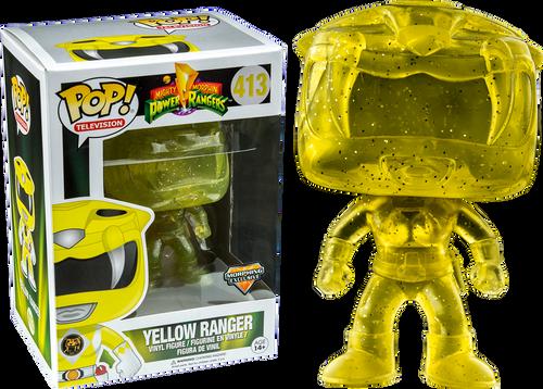 f0e4c4a678b Power Rangers - Yellow Ranger Morphing US Exclusive Pop! Vinyl Figure
