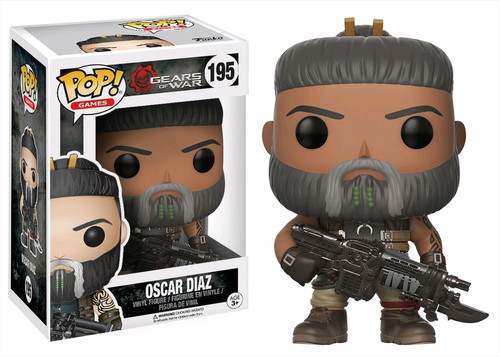 Gears Of War Marcus Fenix Old Man Pop Vinyl Figure