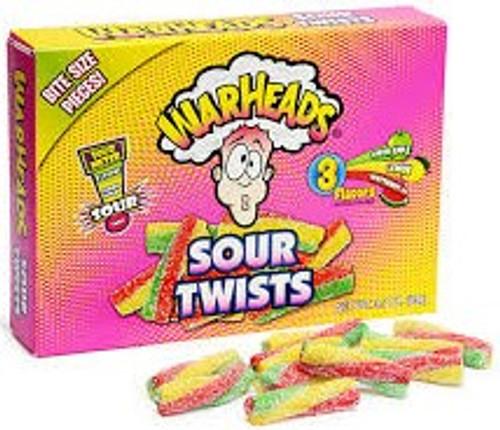 WarHeads Sour Twists - 3.5 oz Theatre Box