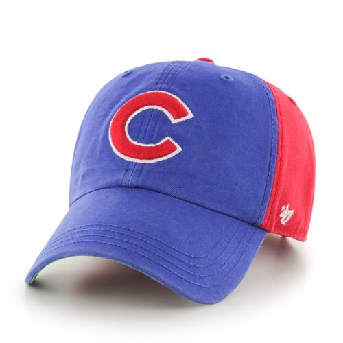 Chicago Cubs Blue/Red 47Brand MLB Strapback Clean Up Hat