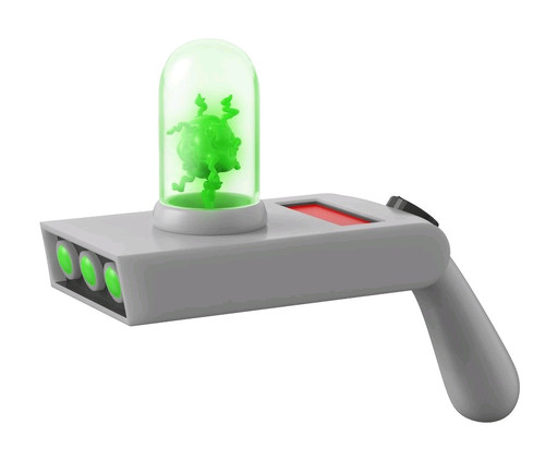 Rick and Morty - Portal Gun 1:1 Scale Life-Size Electronic Prop Replica