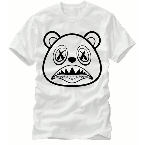 BAWS Bear Logo White T-Shirt