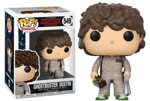 Stranger Things - Ghostbuster Dustin Pop! Vinyl Figure