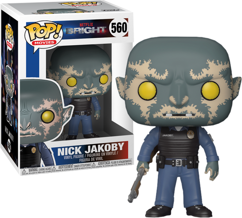 Vinyl Bright Nick Jakoby Collectable Figure No 560 Funko POP