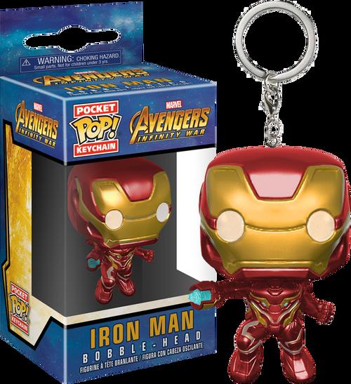 Avengers 3 Infinity War Iron Man Pop Vinyl Keychain