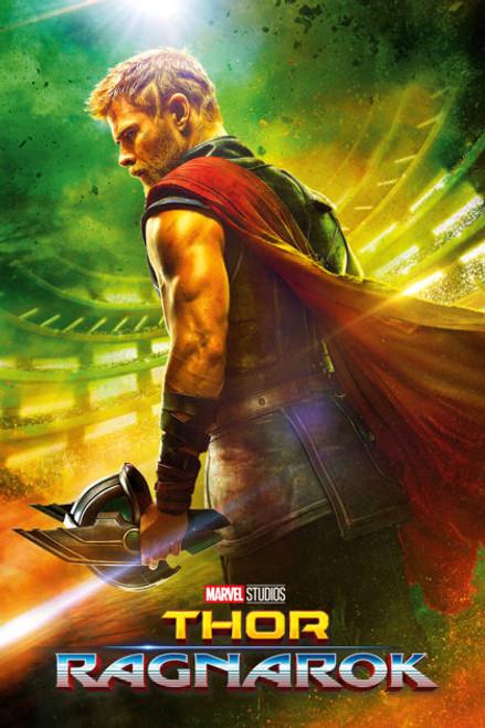 Thor Ragnarok: Thor Small Blockmount Wall Hanger