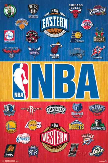 NBA Logos Blockmount Wall Hanger