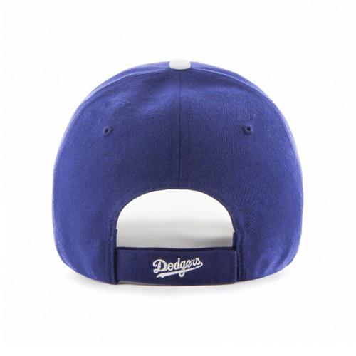 42f4ff3e458 LA Dodgers Royal Blue 47Brand MLB Velcro Strapback MVP Hat