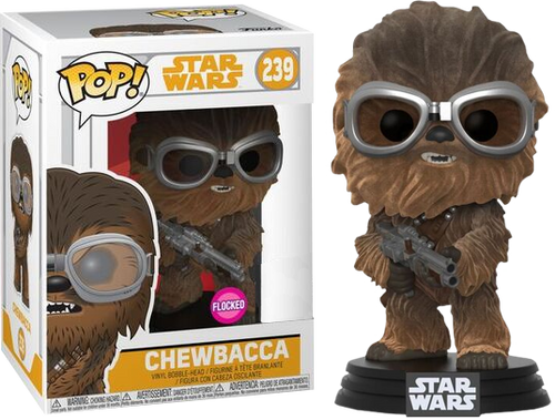 Star Wars: Solo - Chewbacca Flocked US Exclusive Pop! Vinyl Figure