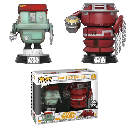 Star Wars: Solo - Fighting Droids US Exclusive Pop! Vinyl Figure 2-Pack