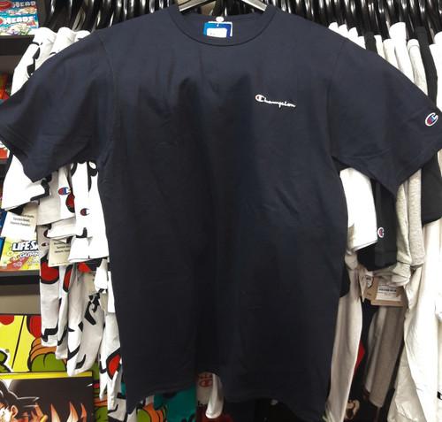Champion Heritage Small Script Navy T-Shirt