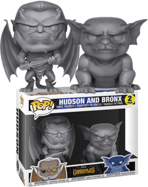 Gargoyles - Hudson & Bronx US Exclusive Pop! Vinyl Figure 2-Pack
