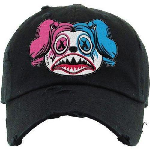 BAWS Harley Quinn Black Dad Hat