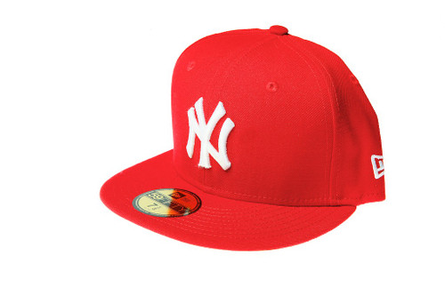 d8d67cb2 New York Yankees Red Logo New Era 59FIFTY Fitted Cap - KCT ...