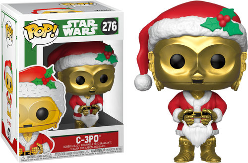 Yoda Santa Pop pop Funko Vinyl Star Wars
