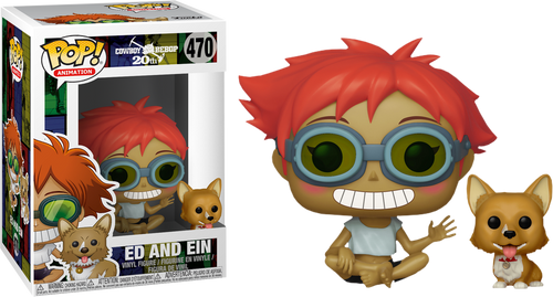 Cowboy Bebop - Ed and Ein Pop! Vinyl Figure